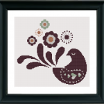 Paloma (dove) Cross Stitch..