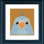 Blue Bird Cross Stitch Pat..