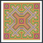 Hill Tribe Cross Stitch Pa..